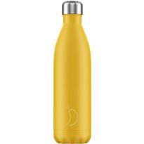 Juomapullo Chillys Matte Burnt Yellow, 750ml