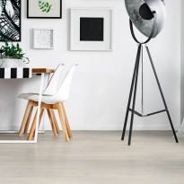 Vinyylikorkki Concept Floor Ecoline, Oak Polar, valkoinen