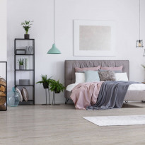 Vinyylilankku Concept Floor Compactline, Limed Oak Polar, integroitu alusmateriaali