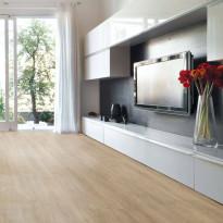 Vinyylilankku Concept Floor Profiline, Oak Gold, integroitu alusmateriaali