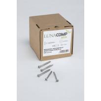 Ruuvi Lunawood, TWPC-piilokiinnikkeille, ruostumaton, uppokantainen, 250 kpl/pkt