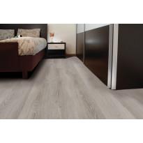 Vinyylikorkki Corkart CW703, Long Plank vaaleanharmaa lankku värivaihtelulla, martioitu 1,512 m²/pak