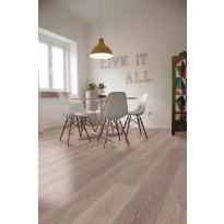 Vinyylikorkki Corkart CW705, Long Plank vaaleanruskea lankku värivaihtelulla, martioitu 1,512 m²/pak