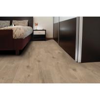 Vinyylikorkki Corkart CW734, Long Plank pehmeän ruskea, lämmin martioitu pinta 1,512 m²/pak