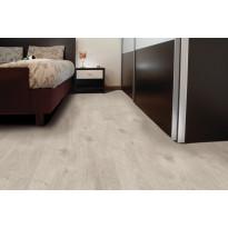 Vinyylikorkki Corkart CW735, Long Plank matta vaaleanharmaa, moderni lankku syvämartioitu 1,512 m²/pak