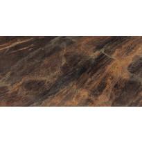 Seinälaatta Caisla Luxury Copper Grace, 600x600 mm, ruskea/kulta