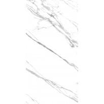 Lattialaatta Caisla Luxury Statuario Classico, 1200x2400 mm, valkoinen/harmaa