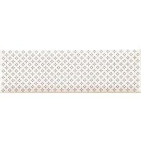 Seinälaatta Caisla Luxury Cool Complimento, 240x75 mm, valkoinen/musta