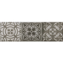 Seinälaatta Caisla Luxury Portland Art 3, 240x75 mm, harmaa