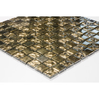 Mosaiikkilaatta Caisla Luxury Gold 22k Dream, 300x300 mm, kulta