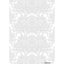 Sivuverho Aleksanteri Fancy, 140x240cm valkoinen