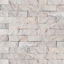 Verhoilukivi Qualitystone White, verkolla, 30 x 100 mm