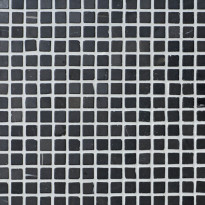 Marmorimosaiikki Qualitystone Square Gray, verkolla, 20 x 20 mm