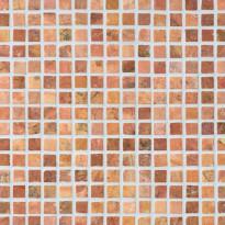 Marmorimosaiikki Qualitystone Square Terra, verkolla, 20 x 20 mm