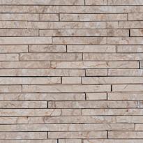 Verhoilukivi Qualitystone White, verkolla, 15 x 100 mm