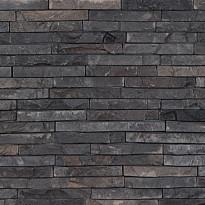 Verhoilukivi Qualitystone Gray, verkolla, 15 x 100 mm