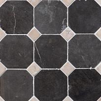 Marmorimosaiikki Qualitystone Classic Gray-White, verkolla, 100x100/20x20 mm