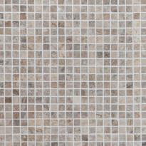 Marmorimosaiikki Qualitystone Royal Oyster, kiiltävä, verkolla, 305 x 305/15 x 15 mm