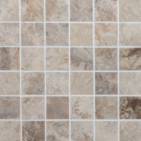 Marmorimosaiikki Qualitystone Royal Oyster, kiiltävä, verkolla, 305 x 305/48 x 48 mm