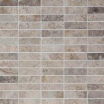 Marmorimosaiikki Qualitystone Royal Oyster, kiiltävä, verkolla, 330 x 330/25 x 80 mm