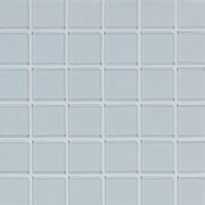 Lasimosaiikki Qualitystone Crystal Super White, verkolla, 48 x 48 mm