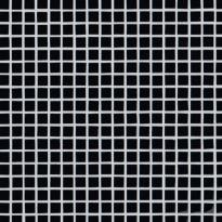 Lasimosaiikki Qualitystone Crystal Black, verkolla, 15 x 15 mm
