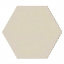 Keraaminen laatta Qualitystone Hexagon Bone, 175 x 175 mm