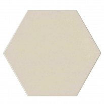 Keraaminen laatta Qualitystone Hexagon White, 175 x 175 mm