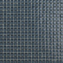 Lasimosaiikki Qualitystone Crystal Gray, verkolla, 15 x 15 mm