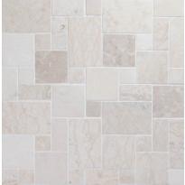 Marmorimosaiikki Qualitystone French Pattern White, verkolla