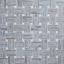 Mosaiikki Qualitystone Parquet, liuskekivi ja marmori verkolla, 300 x 300 mm