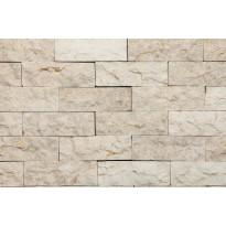 Verhoilukivi Qualitystone White, verkolla, 50 x 150 mm