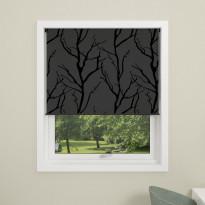 Rullakaihdin Debel Tree, 160x175cm, pimentävä, harmaa