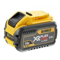 Akku DeWalt XR FlexVolt, 54V/18V, 3.0Ah/9.0Ah