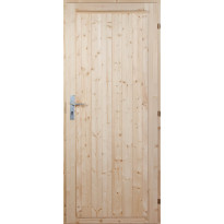 Mökkiovi Nordic Timber 10 x 21, puuvalmis, karmi 90 mm