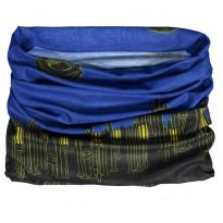 Tuubihuivi Dimex 4265+, musta/sininen