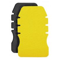 Polvisuojat Dimex 4296+, 240x147x16,5mm, keltainen/musta