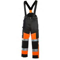 Talvihousut Dimex 6022, hi-vis, oranssi/musta