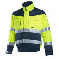 Työtakki Dimex 6031, hi-vis, keltainen/sininen