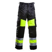 Työhousut Dimex 6340, hi-vis, keltainen/musta