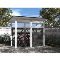 Polkupyöräkatos Gardenlife, 1200 mm x 2300 mm, pulpettikatolla