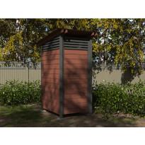Puucee GL1 1035 mm x 1375 mm kuivikekäymälöille