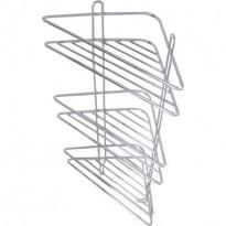 Kulmahylly Demerx Qube, 3-osainen, rst/kromi