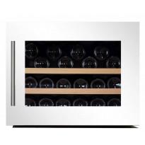 Viinikaappi Dunavox DAB-28.65W, 590x455x545 mm, yhden lämpöalueen, valkoinen