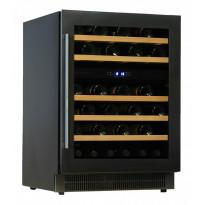 Viinikaappi Dunavox DAU46.146DB, 595x820x562 mm, kahden lämpöalueen