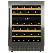 Kahden lämpötilan viinikaappi Dunavox DAU46.146DSS, 595x820x562 mm