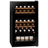 Viinikaappi Dunavox DX-30.80DK, 480x840x490 mm, kahden lämpöalueen, Tammiston poistotuote