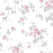 Tapetti Duro 1900 Kristina 387-01, 0.53x10.05m, roosa