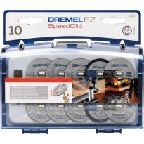 Tarvikesarja Dremel SC690 EZ SpeedClic, 10-osainen