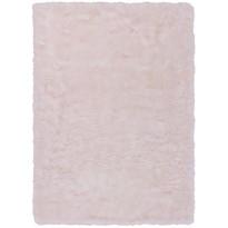 Matto D-sign Sheploucy Coein, 180x280cm, valkoinen/vaaleanpunainen